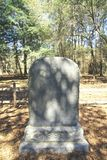 Gravestone commemorating The Lost Colony at Roanoke, NC Royalty Free Stock Photos