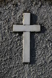 Gravestone cross Royalty Free Stock Photo