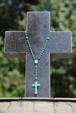 Gravestone cross Stock Photos