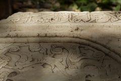 Gravestone detail Royalty Free Stock Photography