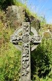 gravestone för celtic kors Royaltyfri Bild
