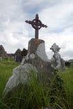 gravestone ireland Royaltyfria Bilder