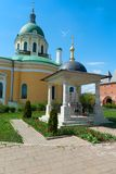 Gravestone monument in Zaraysk Kremlin Royalty Free Stock Image