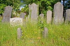 Gravestone in the old cemetery on the Zuiderweg in Hoogeveen Stock Image
