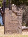 Gravestone at Port Arthur Tasmania Isle of the dead Stock Photo