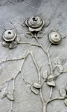 Gravestone Roses Stock Images
