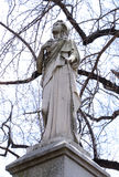 Gravestone sculpture Royalty Free Stock Photos