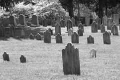 Gravestones Stock Photography