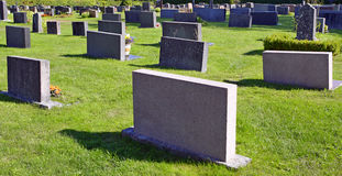 Gravestones. Royalty Free Stock Image