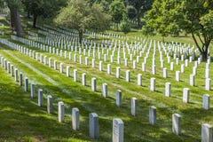 Gravestones on Arlington National Royalty Free Stock Image