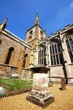 Gravestones and church, Stratford-upon-Avon. Stock Photo