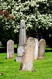 Gravestones in churchyard. Stock Images
