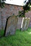 Gravestones. In the churchyard at St Peter`s, Doddington, UK Royalty Free Stock Image