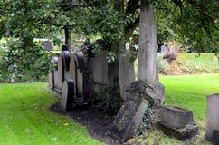 Gravestones at Glasgow Necropolis. The gravestones at Glasgow Necropolis Stock Photography