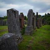 Gravestones Stock Photo