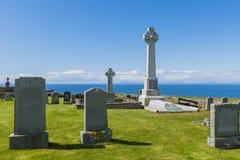 Gravestones Kilmuir Graveyard Royalty Free Stock Photography