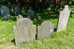 Gravestones - Salem, MA Stock Image