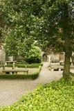Graveyard. A Huguenot graveyard set in the heart of Dublin Stock Image