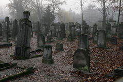 A graveyard Royalty Free Stock Photos