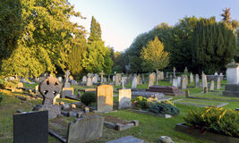 Graveyard Royalty Free Stock Image