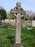 Graveyard 39. This is a grave in the shape of the Cross Stock Image