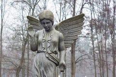 Graveyard angel Stock Images