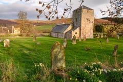 Graveyard At Edlingham Church Stock Photos