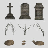 Graveyard bundle Stock Photography