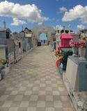 Graveyard in Campeche Royalty Free Stock Photography