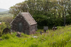 Graveyard and church, Dingle, Ireland Royalty Free Stock Photos