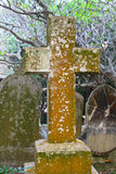 Graveyard Cross Royalty Free Stock Image