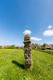 Graveyard at Dutch Terschelling Royalty Free Stock Images