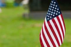 Graveyard Flag Stock Photo