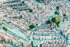 Graveyard in Hong Kong, Asia Royalty Free Stock Photos
