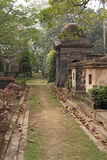 Graveyard in India Stock Images