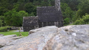 Graveyard. A graveyard in irlande Stock Image
