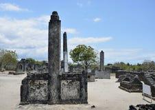 Graveyard, Kaole Ruins Stock Image