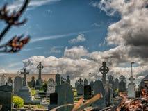 Graveyard in Killadoon county Mayo, Ireland. Graveyard in Killadoon county Mayo in Ireland Royalty Free Stock Photo
