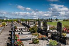 Graveyard in Killadoon county Mayo, Ireland. Graveyard in Killadoon county Mayo in Ireland Stock Photography