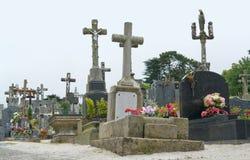 Graveyard at Locronan Royalty Free Stock Photo
