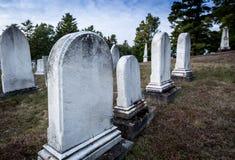 Graveyard Maine Stock Photo
