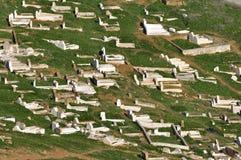 Graveyard in Morocco Stock Photo