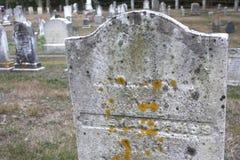 Graveyard in New England Stock Photos
