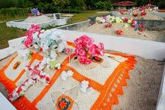 Graveyard on Ofu Island, Tonga Royalty Free Stock Photography