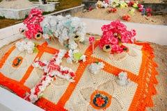 Graveyard on Ofu Island, Tonga Royalty Free Stock Photos