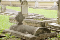 A graveyard Stock Images