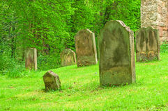 Graveyard peaceful resting Place Stock Photography