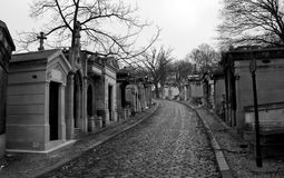 Graveyard Pere Lachaise Royalty Free Stock Photo