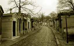 Graveyard Pere Lachaise Royalty Free Stock Photography