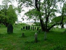 Graveyard in Salem, Masachusetts Stock Photo